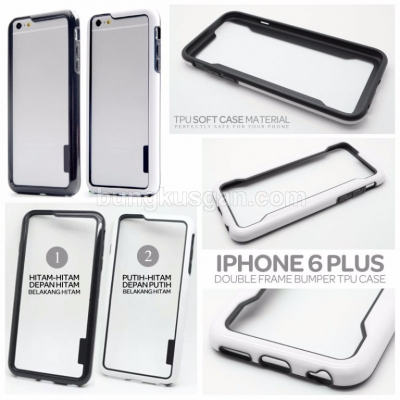 ^ iPhone 6 Plus / iPhone 6S Plus - Double Frame Bumper Case