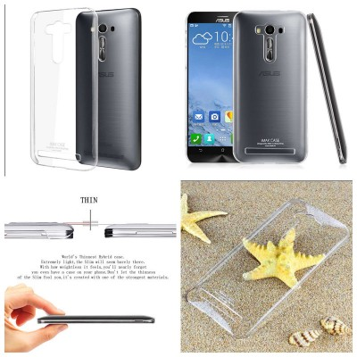 ^ Asus Zenfone 2 Laser 5.5 ZE550KL - Imak Crystal Clear Hard Case 2nd Series