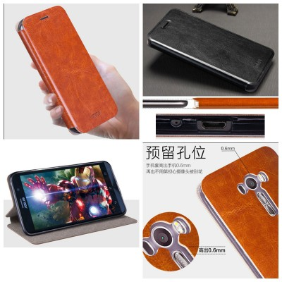 ^ Asus Zenfone 2 Laser 5.5 ZE550KL - Mofi Core Series Leather Case