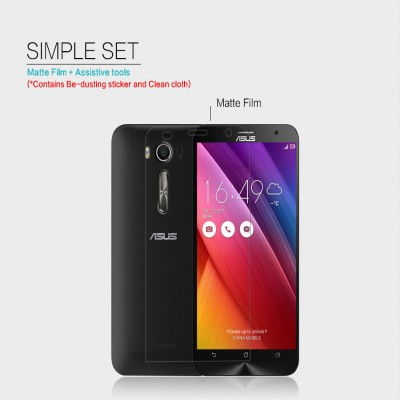 ^ Asus Zenfone 2 Laser 5.5 ZE550KL - Nillkin Antiglare Screen Guard