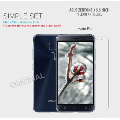 ^ Asus Zenfone 3 5.5 inch ZE552KL - Nillkin Antiglare Screen Guard }