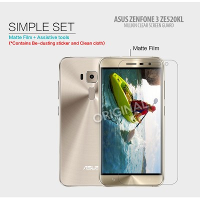 ^ Asus Zenfone 3 5.2 inch ZE520KL - Nillkin Antiglare Screen Guard }