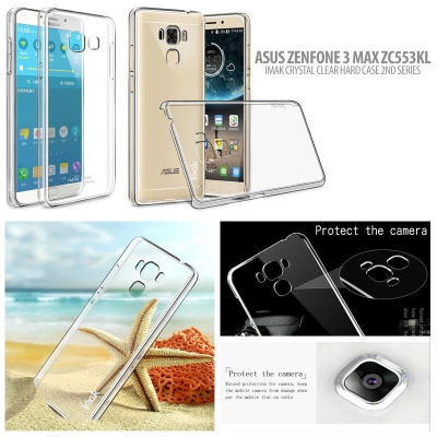 ^ Asus Zenfone 3 Max 5.5 Inch ZC553KL - Imak Crystal Clear Hard Case 2nd Series