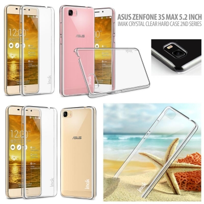 ^ Asus Zenfone 3s Max 5.2 Inch ZC521TL - Imak Crystal Clear Hard Case 2nd Series