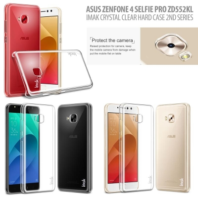 ^ Asus Zenfone 4 Selfie Pro ZD552KL - Imak Crystal Clear Hard Case 2nd Series }