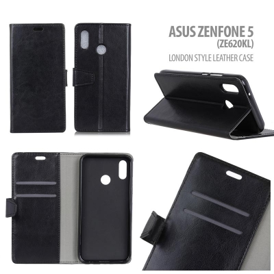 * Asus Zenfone 5 ZE620KL - London Style Leather Case