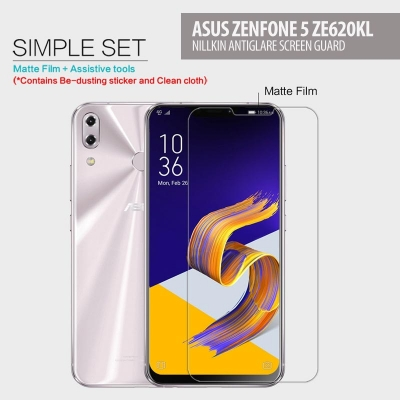 ^ Asus Zenfone 5 ZE620KL - Nillkin Antiglare Screen Guard }