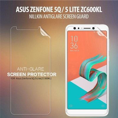 ^ Asus Zenfone 5Q / 5 lite ZC600KL - Nillkin Antiglare Screen Guard }