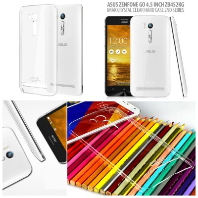 ^ Asus Zenfone Go 4.5 inch ZB452KG  2016 - Imak Crystal Clear Hard Case 2nd Series