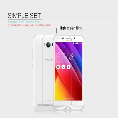 ^ Asus Zenfone Max - Nillkin Clear Screen Guard