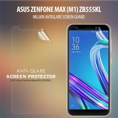 ^ Asus Zenfone Max M1 ZB555KL - Nillkin Antiglare Screen Guard }