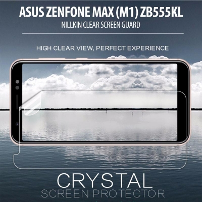 ^ Asus Zenfone Max M1 ZB555KL - Nillkin Clear Screen Guard }