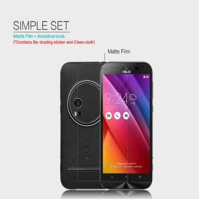 ^ Asus Zenfone Zoom ZOOXSC - Nillkin Antiglare Screen Guard