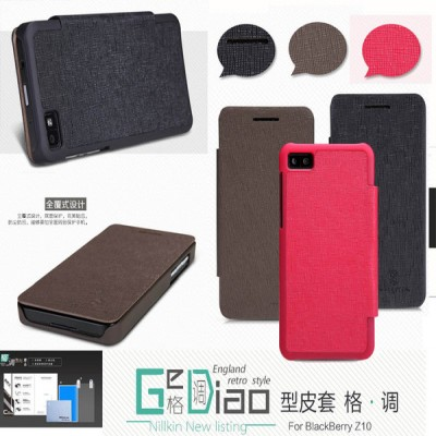 $ Blackberry Z10 - Nillkin Diary Leather Case