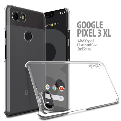 ^ Google Pixel 3 XL - IMAK Crystal Clear Hard Case 2nd Series