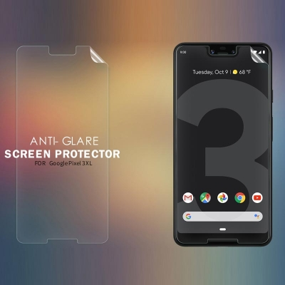 ^ Google Pixel 3 XL - Nillkin Antiglare Screen Guard