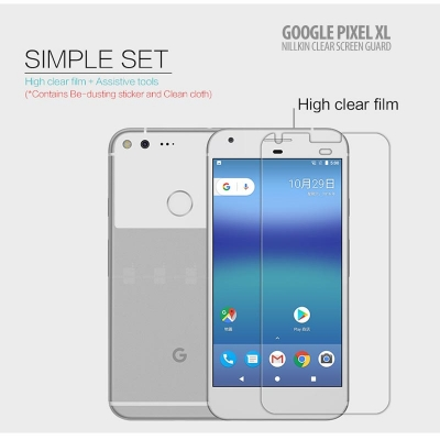 ^ Google Pixel XL - Nillkin Clear Screen Guard }