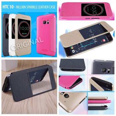 ^ HTC 10 - Nillkin Sparkle Leather Case