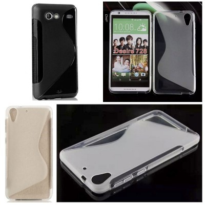 ^ HTC Desire 728G / Desire 728 - Stylish STPU Soft Case }