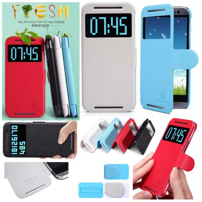 ^ HTC M8 - Nillkin Fresh Series Leather Case