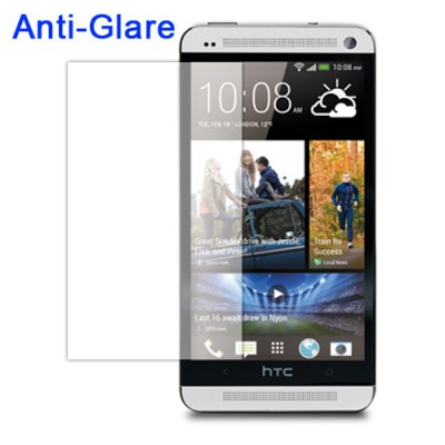 $ HTC One Dual / One M7 Dual SIM 802D / One M7 (Single SIM) - Antiglare Screen Guard