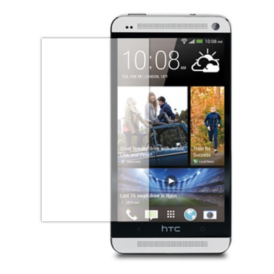 $ HTC One Dual / One M7 Dual SIM 802D / One M7 (Single SIM) - Clear Screen Guard