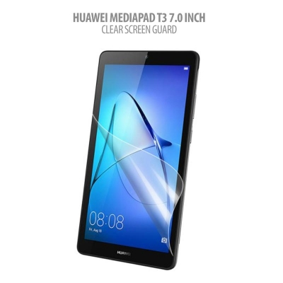 * Huawei Mediapad T3 7.0 Inch - Clear Screen Guard }