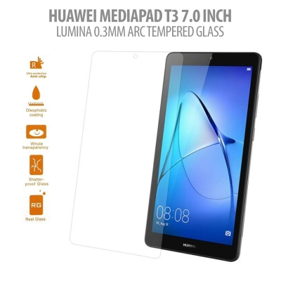 * Huawei Mediapad T3 7.0 Inch - Lumina 0.3 mm Arc Tempered Glass }
