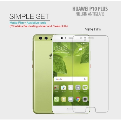 ^ Huawei P10 Plus - Nillkin Antiglare Screen Guard }