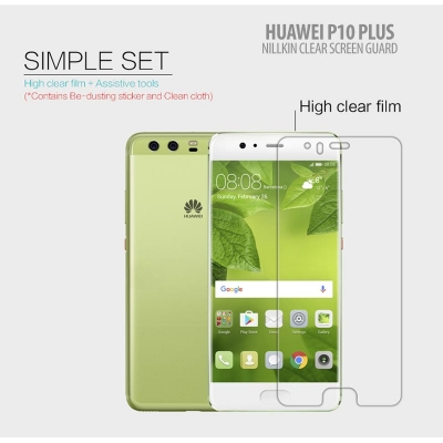 ^ Huawei P10 Plus - Nillkin Clear Screen Guard }