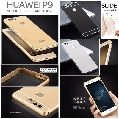 ^ Huawei P9 - Metal Slide Hard Case