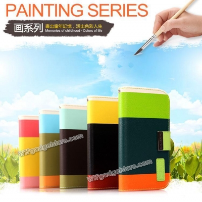 $ iPhone 5 / iPhone 5S - Kalaideng Painting Series Leather Book