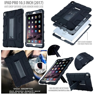 * Ipad Pro 10.5 Inch (2017) - Anti Drop Defense Gear Armor Hard Case }