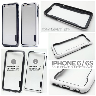 ^ iPhone 6 / iPhone 6S - Double Frame Bumper Case