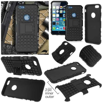 ^ iPhone 6 / iPhone 6S - Heavy Duty Rugged Armor Stand Case