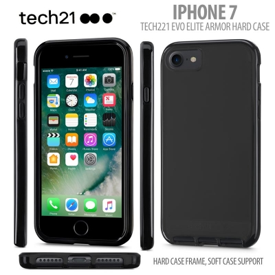 [HRX] iPhone 7 / Iphone 8 - Original Tech21 Evo Elite Armor Hard Case