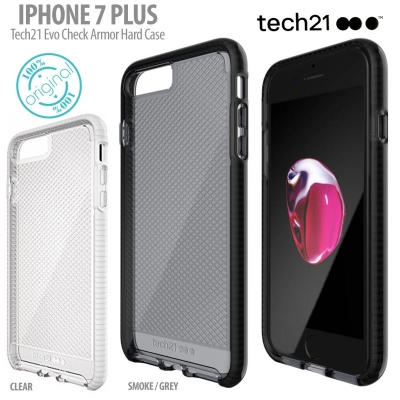 [HRX] Iphone 7 Plus 8 Plus - Original Tech21 Evo Check Armor Hard Case