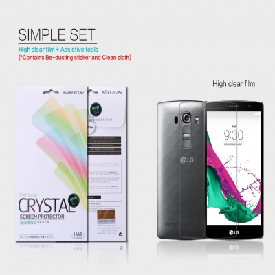 ^ LG G4 Beat / G4 Mini - Nillkin Clear Screen Guard