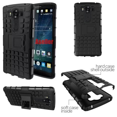 ^ LG G4 Pro V10 - Heavy Duty Rugged Armor Stand Case }