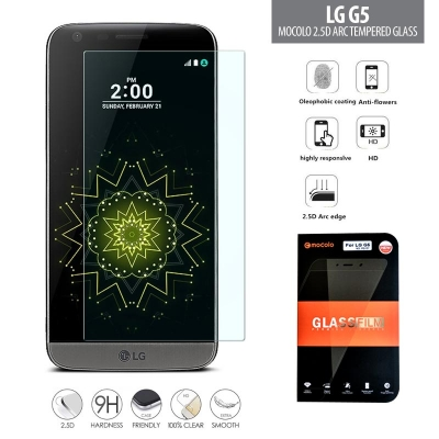 LG G5 - Mocolo 2.5D Arc Tempered Glass