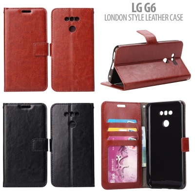 NR LG G6 - London Style Leather Case