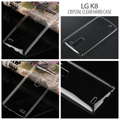 * LG K8 - Crystal Clear Hard Case