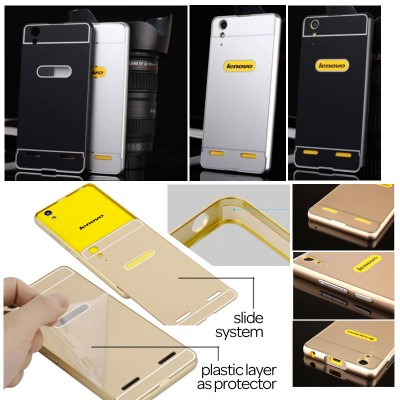$ Lenovo K3 / Lenovo A6000 Plus / A6010 - Metal Slide Hard Case