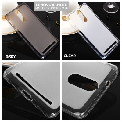 $ Lenovo K5 Note - Matte TPU Soft Case
