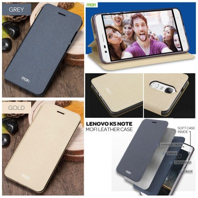 $ Lenovo K5 Note - Mofi Leather Case