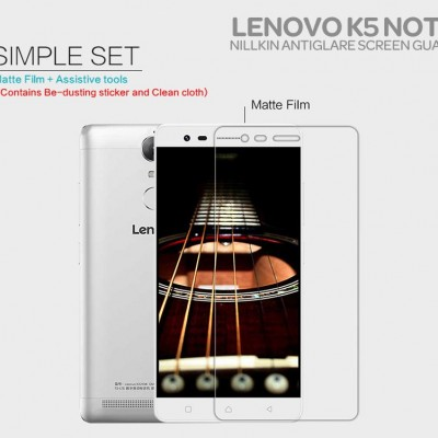$ Lenovo K5 Note - Nillkin Antiglare Screen Guard