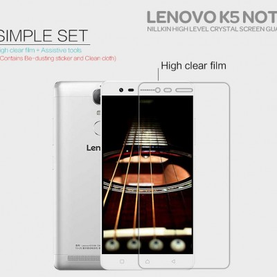 $ Lenovo K5 Note - Nillkin Clear Screen Guard