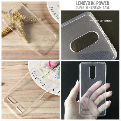 * Lenovo K6 Power - Super Thin Glossy TPU Soft Case