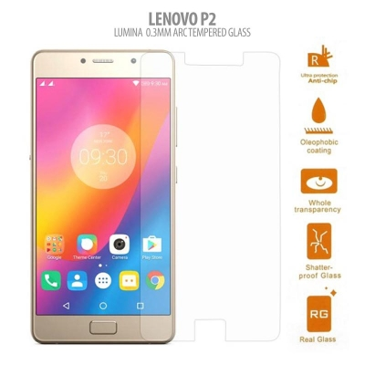 * Lenovo P2 - Lumina 0.3mm Arc Tempered Glass }