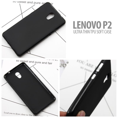 ^ Lenovo P2 - Ultra Thin TPU Soft Case }
